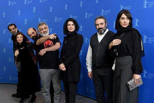 تیپ بازیگران ایرانی روی فرش قرمز جشنواره فیلم برلین