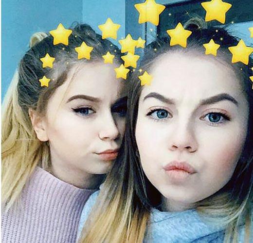 خودکشی دو خواهر زیبا بخاطر بازی نهنگ آّبی (تصاویر)