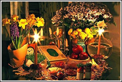 ایده های جدید تزئین سفره هفت سین عید نوروز 97