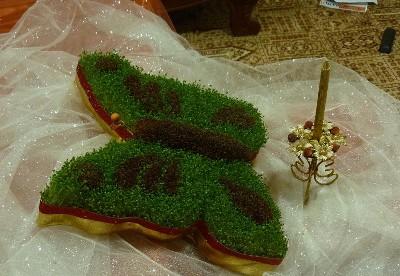 طرز درست کردن 3 مدل سبزه عید نوروز