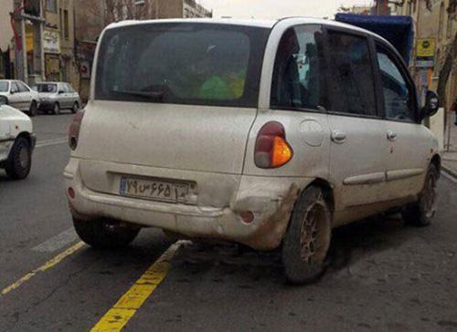 زشت ترین ماشین دنیا در تهران