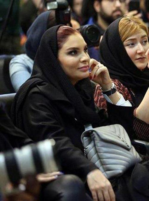 حضور همسر هومن سیدی در جشنواره فجر (عکس)
