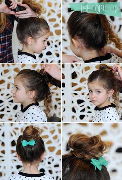 جدیدترین مدلهای آرایش مو و شینیون دخترانه