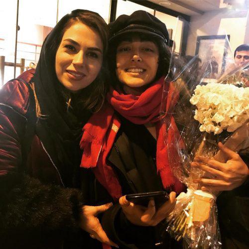 عکس بازیگر زن ایرانی با گلشیفته فراهانی در پاریس