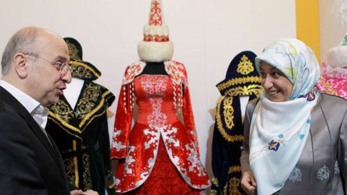 همسر جواد ظریف در جشنواره مد و لباس (عکس)