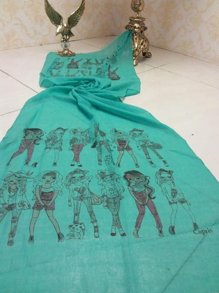 زیباترین مدلهای روسری و شال 97