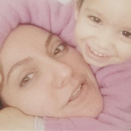 جدیدترین عکس مهناز افشار و دخترش در روز مادر
