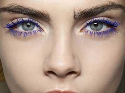 روش آرایش به رنگ بنفش مد سال 2018