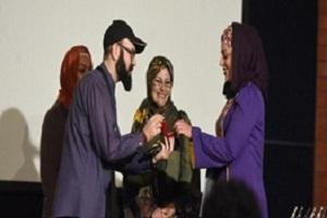 خواستگاری جالب هنرمند ایرانی در اختتامیه جشن (عکس)