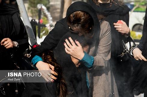 تصاویر تشییع و خاکسپاری لوون هفتوان بازیگر ایرانی