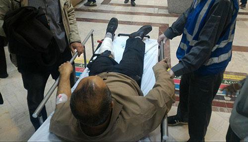 عکس های دلخراش مصدومین چهارشنبه سوری 96