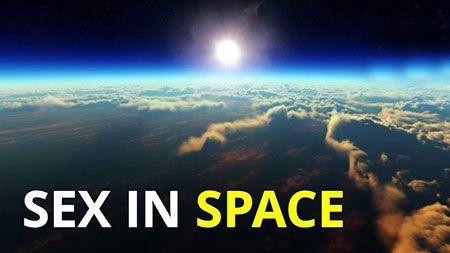 آزمایش جالب رابطه جنسی مردان و زنان در فضا (عکس)