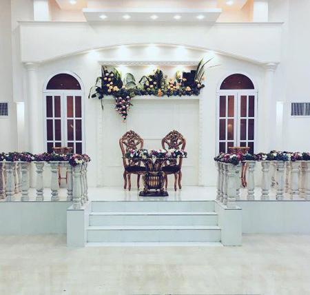 مدلهای جدید تزیینات جایگاه عروس و داماد