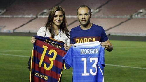 تصاویر و بیوگرافی زیباترین دختر فوتبالیست جهان