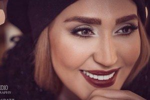 عکسهای جشن تولد خانم بازیگر با چهره ای جدید