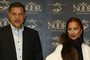 علی دایی و همسرش مونا در موزه لوور (عکس)