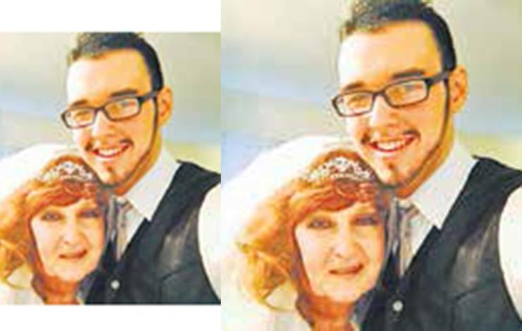 جنجال ازدواج این پیرزن با پسر 17 ساله (عکس عروس و داماد )