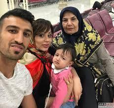 ماجرای آشنایی و ازدواج حسین ماهینی و همسرش انیس (عکس)