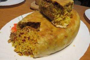 آموزش تصویری غذای مجلسی برد بلاو