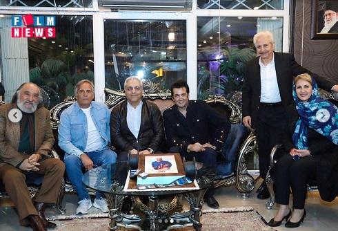 تصاویر جشن تولد مهران مدیری با حضور بازیگران