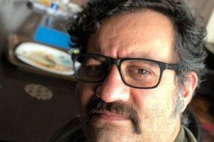 نظر جالب مهراب قاسمخانی در مورد حمایت از روحانی (عکس)
