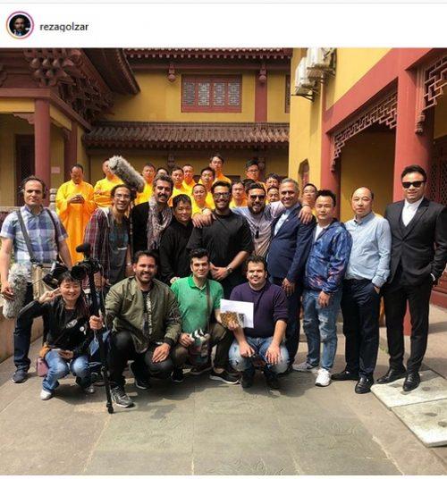 گردش محمد رضا گلزار و بازیگران در چین (عکس)