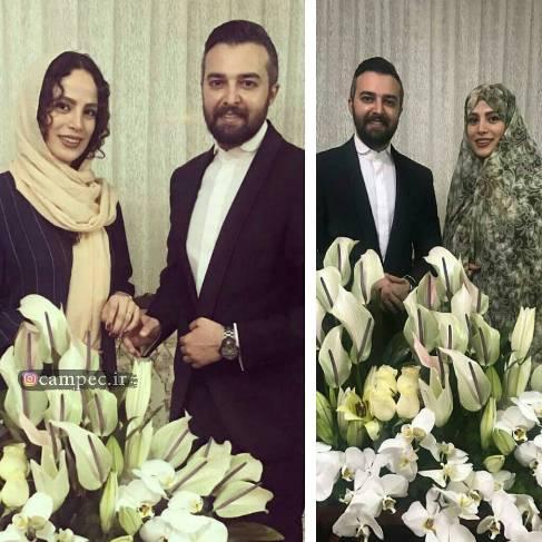 مجری مشهور تلویزیون با فرشته آلوسی ازدواج کرد (عکس)