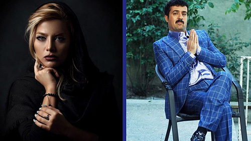 احمد مهرانفر بازیگر نقش ارسطو با خانم مدل زیبا ازدواج کرد (عکس)