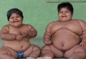 دردسر چاق ترین دختران دنیا که خواهرند (تصاویر)