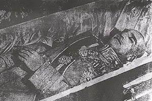 پیکر مومیایی رضا شاه پهلوی در شاه عبدالعظیم کشف شد (عکس)