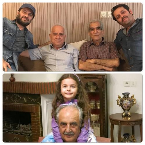 عکسهای خانوادگی بازیگران و چهره ها برای تبریک روز پدر