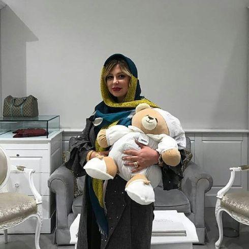 ظاهر جدید نیوشا ضیغمی در آخرین روزهای حاملگی اش (عکس)