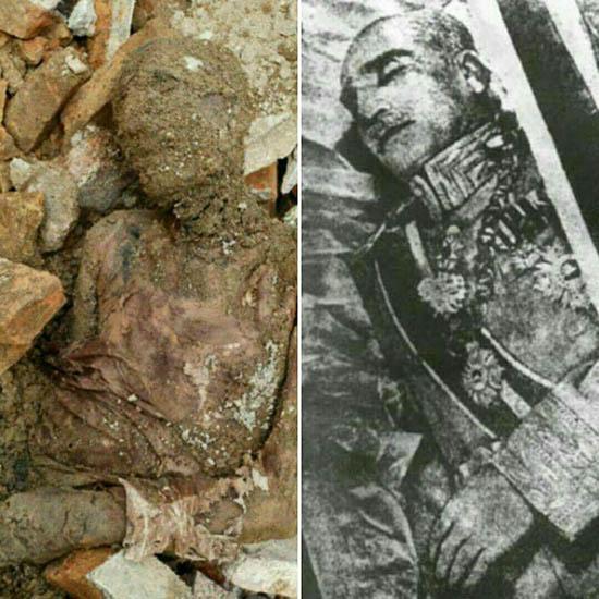 دو سند مهم از مراحل مومیایی کردن جسد رضا شاه (عکس)