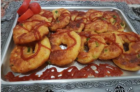 دستور پخت پیتزا دوناتی خوشمزه و مجلسی