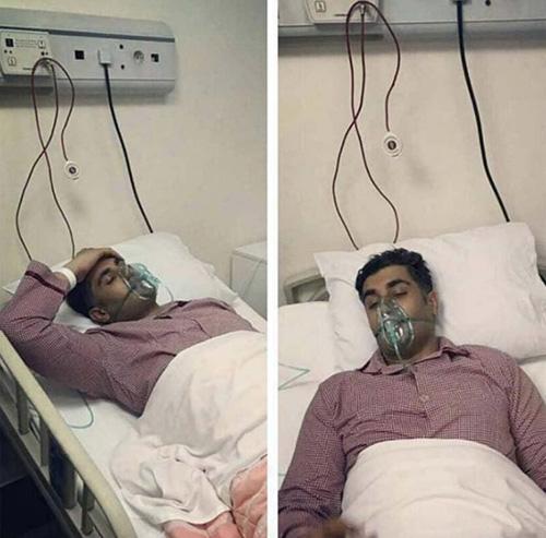 آخرین وضعیت و علت سکته شهاب مظفری خواننده پاپ (عکس)