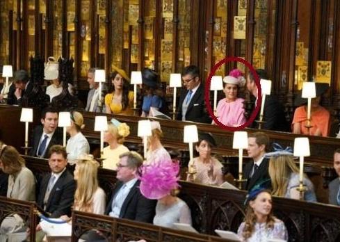 زن ایرانی مشهور مهمان مراسم عروسی شاهزاده انگلستان