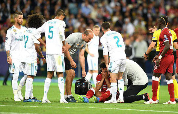 محمد صلاح جام جهانی 2018 را از دست داد
