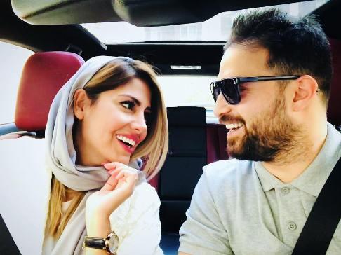 سالگرد ازدواج بابک جهانبخش و همسر دومش (عکس)