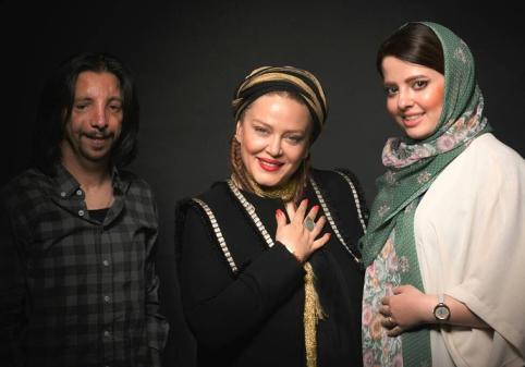 بهاره رهنما در کنار زن و شوهر جنجالی عاشق ماه عسل (عکس)