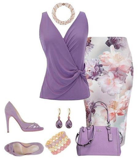 لباس ها و رنگهای مد تابستان امسال (عکس)