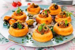 طرز تهیه فینگر فود گوشت و سبزیجات برای افطار