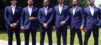سوژه شدن تیپ بازیکنان تیم ملی در جام جهانی (عکس)