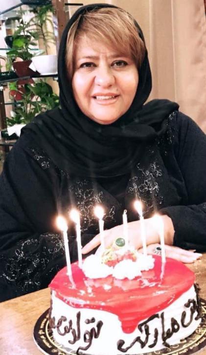 عکس های جشن تولد 52 سالگی رابعه اسکویی