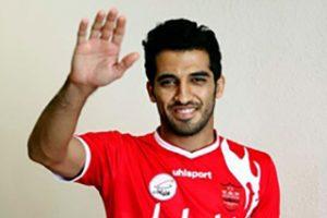 مصاحبه با وحید امیری بعد از لایی به پیکه در بازی ایران اسپانیا (عکس)