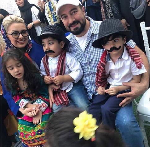 عکس جدید مجید صالحی و همسرش در جشن