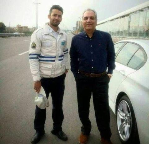 ماشین مدل بالا و لاکچری مهران مدیری (عکس)