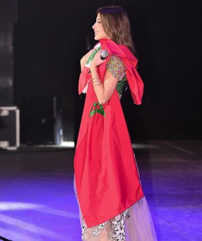 عصبانیت مردم از رفتار نانسی عجرم در مراکش