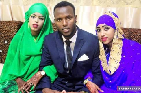ازدواج همزمان داماد با دختر عمه و دختر عمویش (عکس)