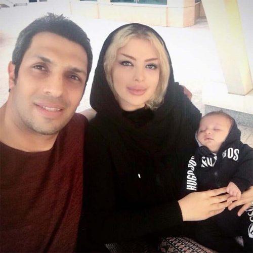 عکس عاشقانه سپهر حیدری و همسرش بعد از شایعات اخیر