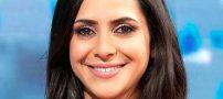 خانم مجری ایرانی در انگلیس به گریه افتاد (عکس)